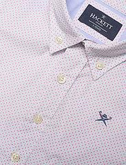 Hackett London - COLOUR GRID PRINT B - overhemden - blue/white - 2
