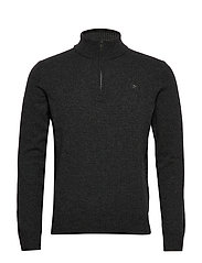 LAMBSWOOL HZIP - 9JHCARBON
