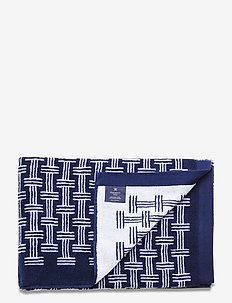 100X150 BATH SHEET SLJ - towels - 5nahkt h navy