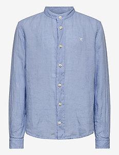 PLAIN LINEN Y - shirts - 513sky