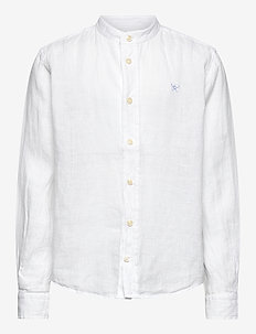 PLAIN LINEN Y - shirts - 800white