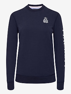 HRR HKT CREW W - sweatshirts - 595navy