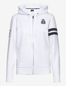 HRR FZ HOODY W - hoodies - 800white