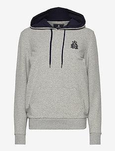 HRR HOODY W - hoodies - 933grey marl