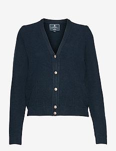 HRR CLASSIC CARDI - swetry rozpinane - navy