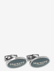 OVAL HACKETT LOGO - cuff links - 551blue