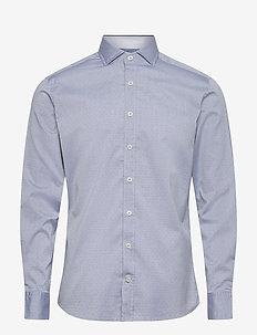 ARROW DOBBY MT - basic shirts - blue