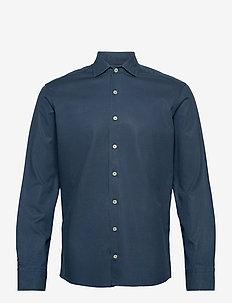 CO TENCEL PIECE DYE - casual hemden - dk denim