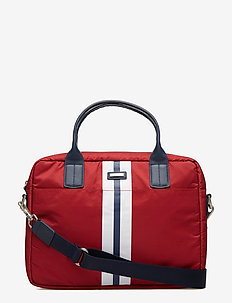 HURLINGHAM SINGLE DOC - shoulder bags - 255red