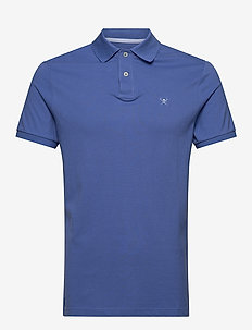 SLIM FIT LOGO - polos à manches courtes - 593royal blue
