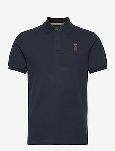 HARRY SS POLO - polos à manches courtes - navy