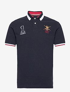 ARMY POLO - short-sleeved polos - navy