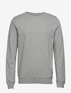 REFINED CREW - 913LIGHT GREY MARL