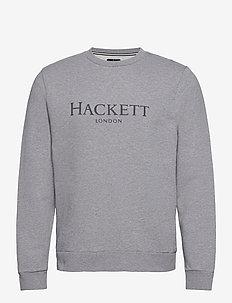HACKETT LDN CREW - overdeler - light grey marl
