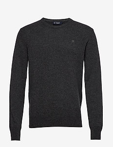 LAMBSWOOL CREW - 9JHCARBON