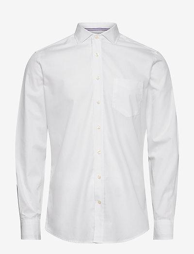 WHITE OXF ENG STR KS - basic overhemden - white