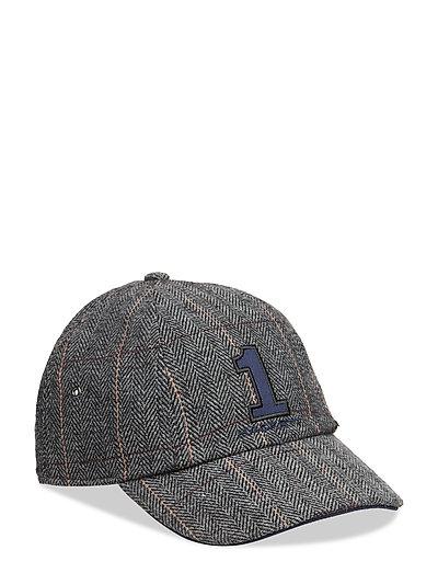 TWEED NO1 BBALL CAP - 945GREY