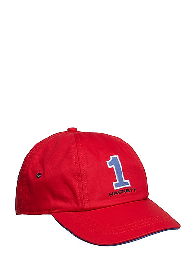 NEW NUMBER CAP - 255RED