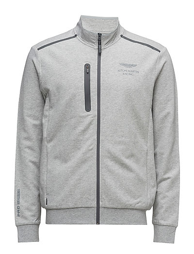 AMR FULL ZIP - GREY MARL