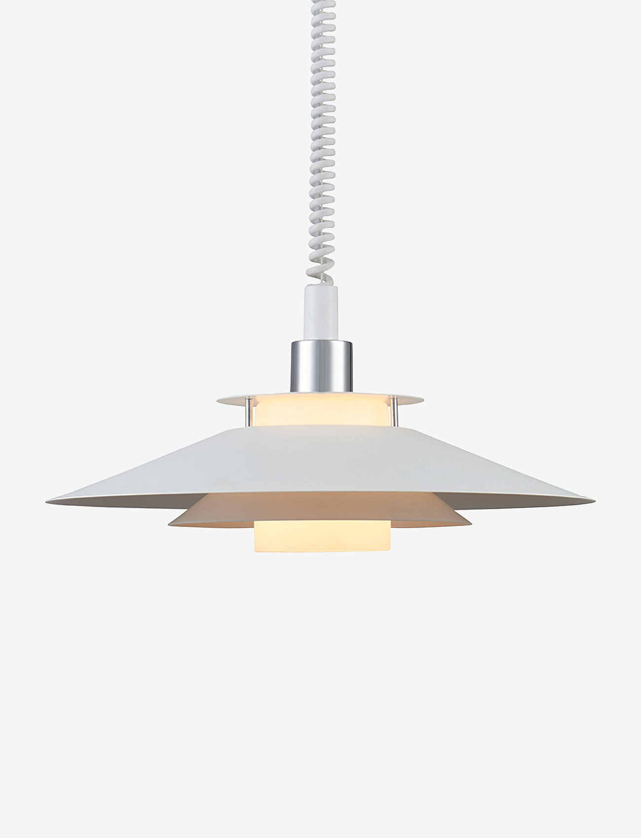 Halo Design - RIVOLI - pendler - white, chrome - 0