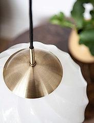 Halo Design - TWIST - pendler - antique brass, opal - 1