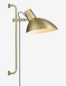 METROPOLE - vegglamper - antique brass