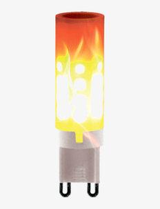 Burning Flame - lyspærer - white