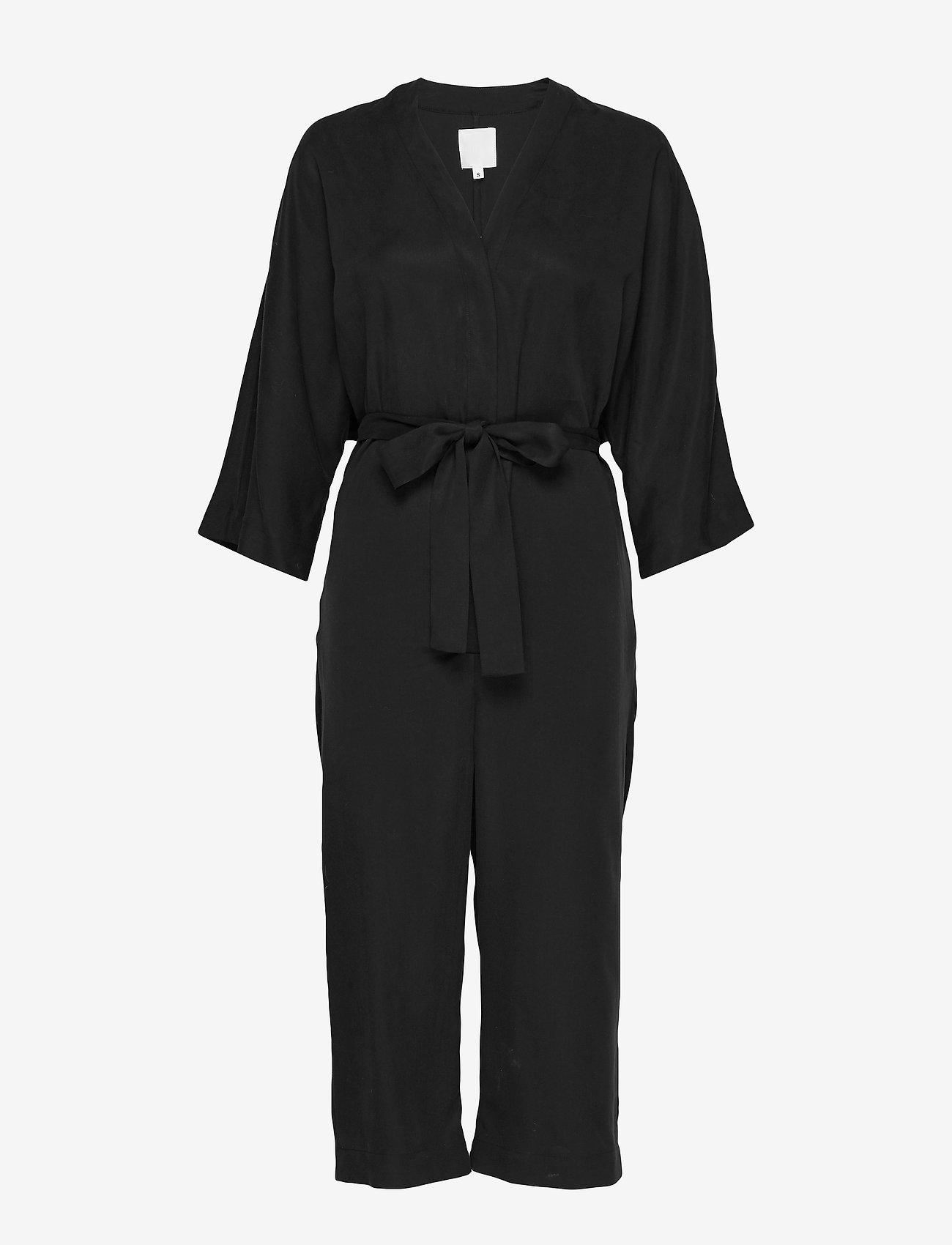 hálo - TUNDRA kimono overall - kleding - black - 0