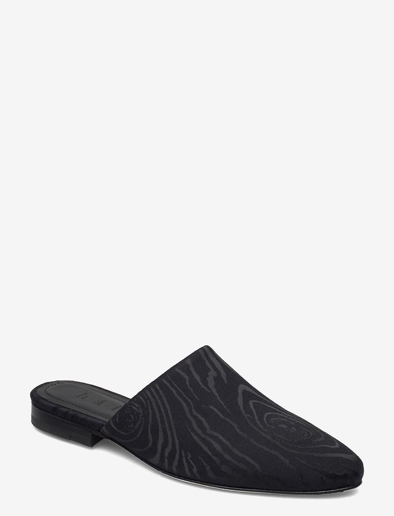 hálo - KAARNA slippers - buty - black - 0