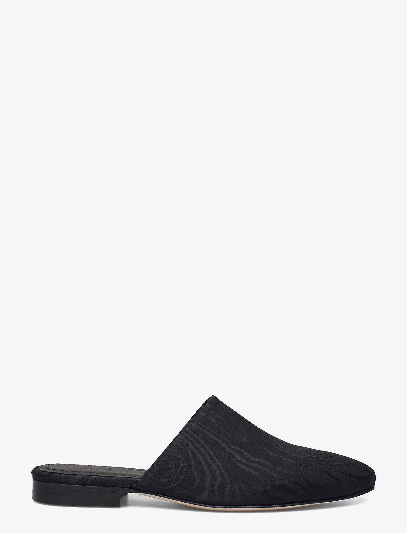 hálo - KAARNA slippers - buty - black - 1