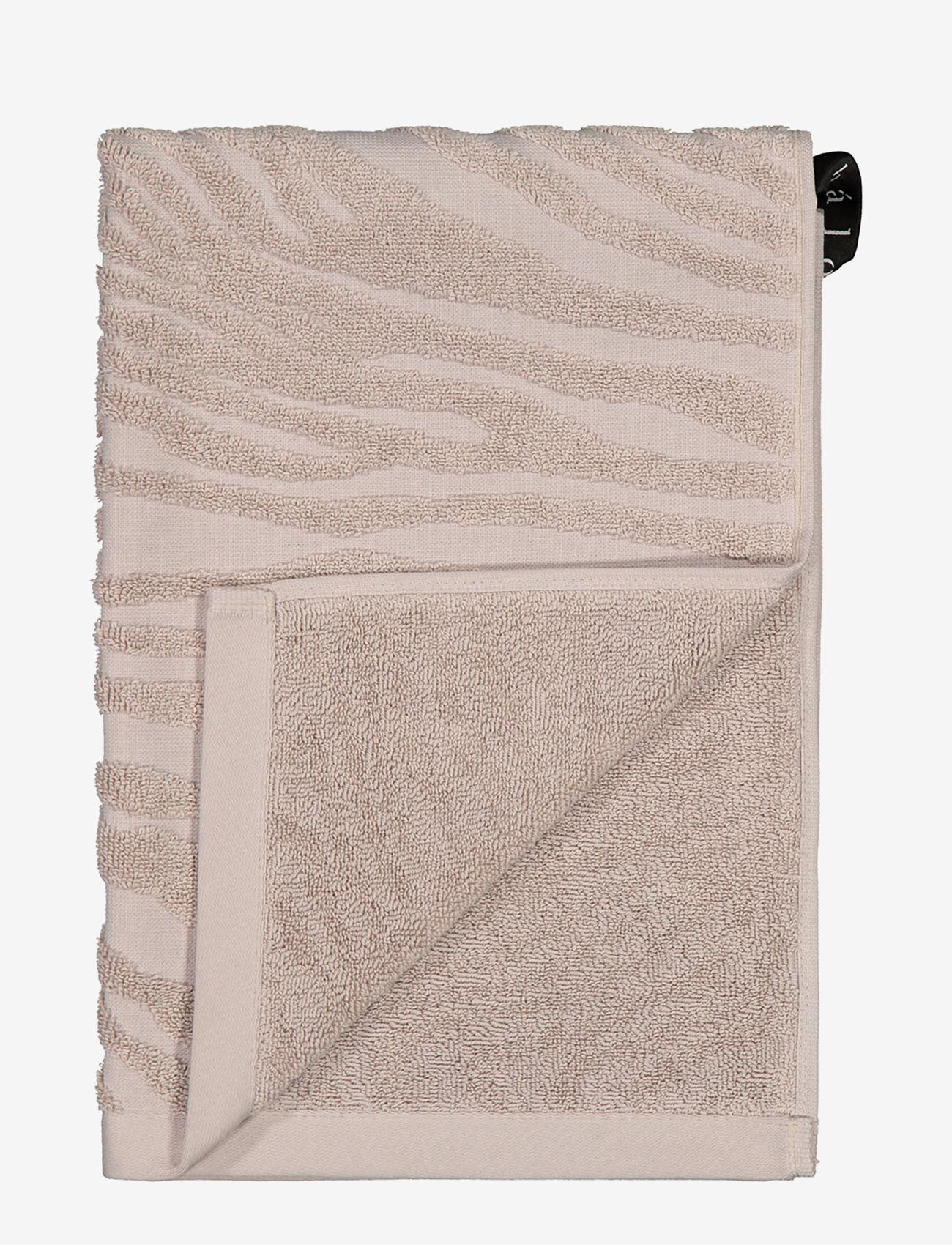 hálo - KAARNA hand towel - handdoeken en badhanddoeken - sand - 0