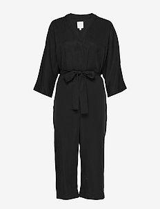TUNDRA kimono overall - BLACK