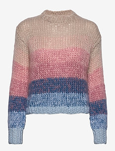 KAJO hand knitted sweater - MULTI COLOURED