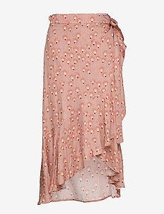 NEVA frill skirt - POWDER