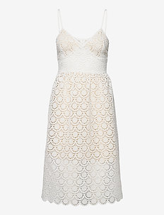 NEVA lace dress - kanten jurken - white