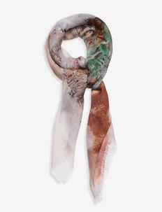 REIDAR prairie wool silk scarf - tilbehør - autumn colors