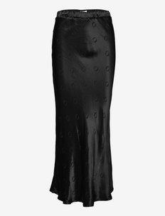 hálo O-logo skirt - vidutinio ilgio sijonai - black