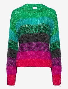 KAJO handknitted sweater - pullover - multicolor