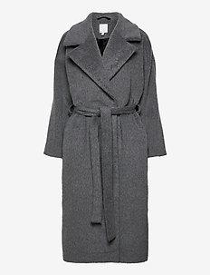 KAAMOS long coat - villakangastakit - grey