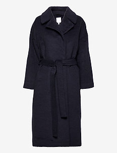 KAAMOS long coat - villakangastakit - polar night blue
