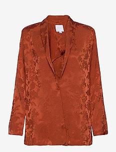 Ruska blazer - oversized blazers - copper