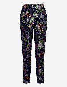 RUSKA pants - slim fit housut - multicolor