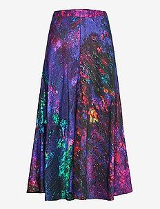 Reidar bell skirt - midi - multicolor