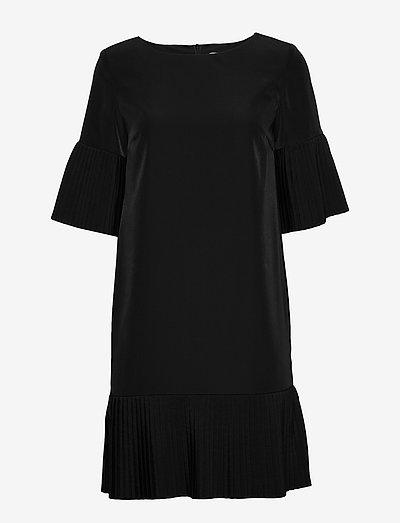KAJO dress - midi dresses - black