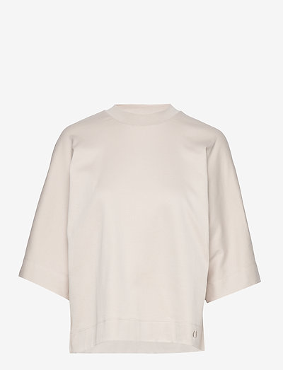 TUNDRA box shirt - tops met lange mouwen - sand