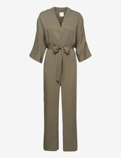 TUNDRA kimono overall - clothing - pine green