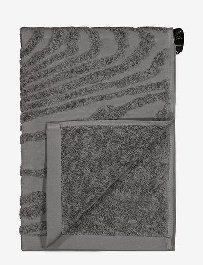 KAARNA hand towel - handdoeken en badhanddoeken - grey