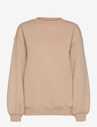 TUNDRA woolen college - sweatshirts en hoodies - hay