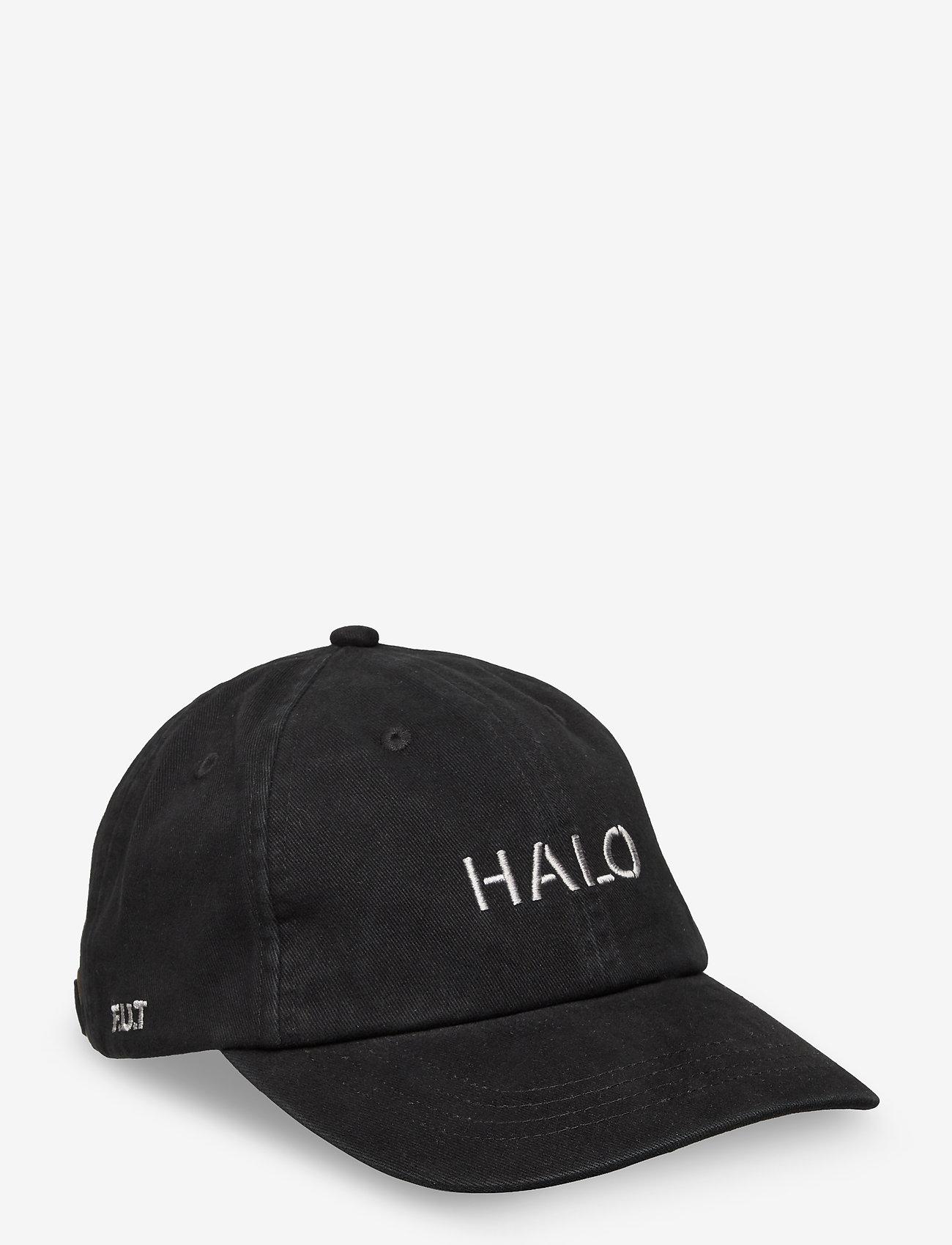 HALO - HALO CAP - caps - black - 0