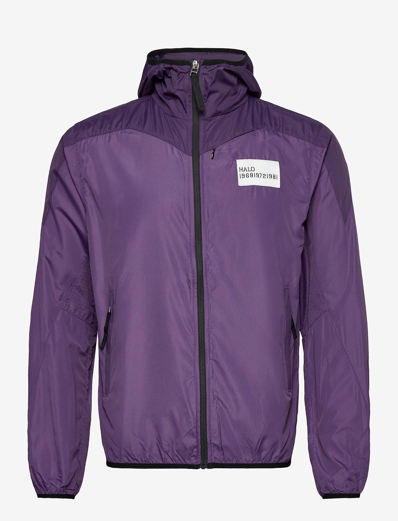 HALO - HALO ATW Running Jacket - sportsjakker - purple - 0
